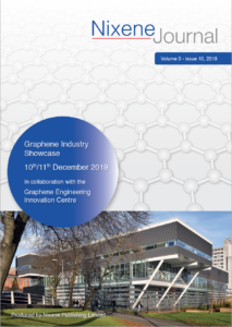 Special Edition Journal GEIC Graphene Industry Showcase 2019 cover