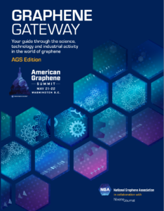 Special Edition Journal Graphene Gateway cover for the American Graphene Summit 2019