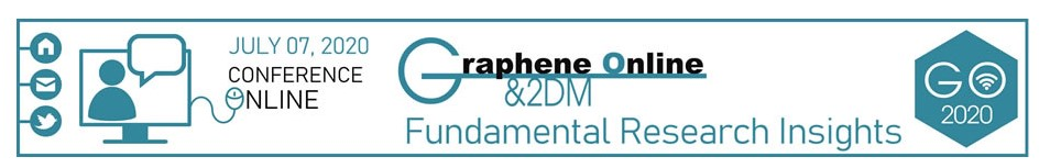 Graphene 2DM Online conference banner