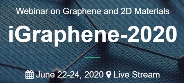 iGraphene 2020 webinar conference banner