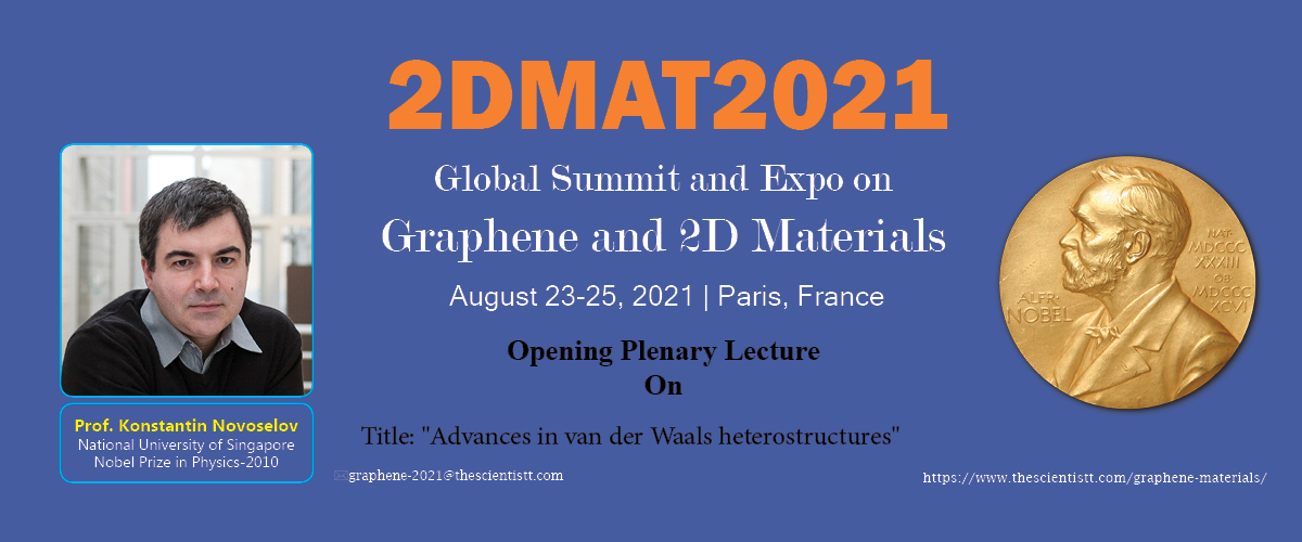 2DMat2021 Global Summit banner