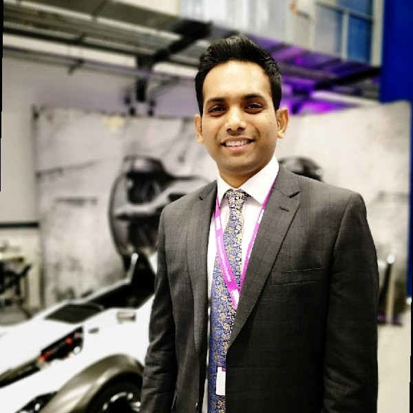 Graphene Carbon-Fibre webinar will be presented by Dr Arun Prakash Aranga Raju pictured here