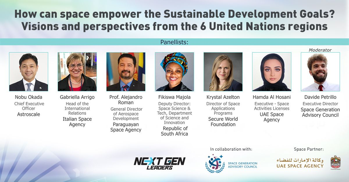 Global Aerospace Summit photo of speakers