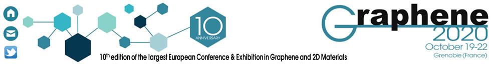 graphene2020 hybrid conference logo