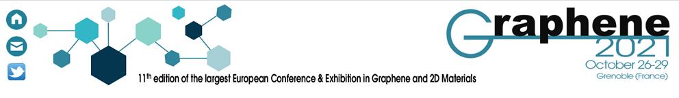 Graphene 2021 Grenoble France banner